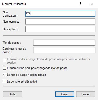 Cree una cuenta de usuario local de Windows 10 en usuarios y grupos locales