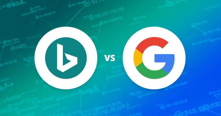 Google vs Microsoft Bing