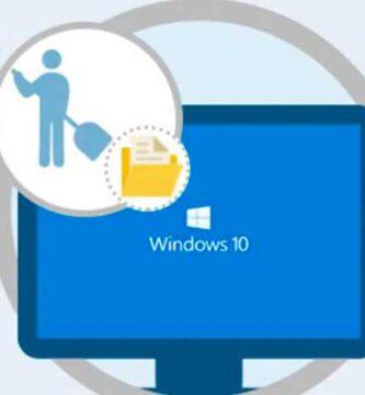 eliminar archivos temporales windows 10