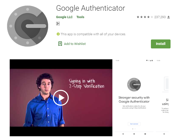 google authenticator pc